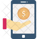 Mobile Pay Mobile Payment Mobile Transaction Icon