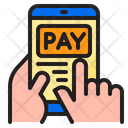 Mobile Pay Pay Hand Icon