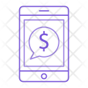Mobile Pay Phone Icon
