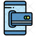 Mobile Card Payment Icon