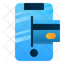 Mobile Payment Phone Digital Icon