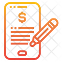 Payment Online Smartphone Icon