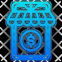 Mobilephone Shopping Shop Icon