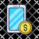 Mobile Income Telephone Icon