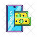 Mobile Payment Ecommerce Icon