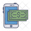 Mobile Payment Smartphone Money Icon