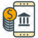 Mobile Bank Payment Icon