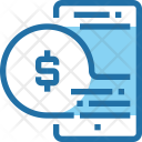Mobile Payment Cash Icon