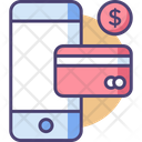 Mobile Payment Mobile Smartphone Icon