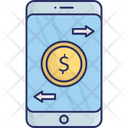 Mobile Mobile Money Mobile Payment Icon