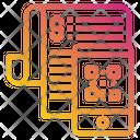 Mobile Qr Code Bill Icon