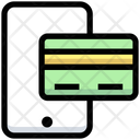Mobile Payment E Card Payment Card Icon