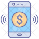Mobile Payment Money Transfer Icon