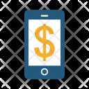 Dollar Phone Mobile Icon