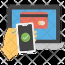 Mobile Payment Desktop Payment Secure Payment Icon