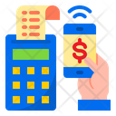 Mobile Payment Online Payment Cashier Icon
