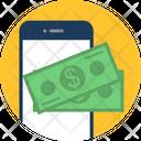Mobile Money Finance Icon
