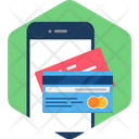 Mobile Credit Card Phone Icon