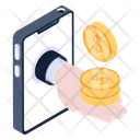 Mobile Payment Cash Payment Online Payment Icon
