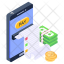 Mobile Payment Mobile Receipt Mobile Payment Receipt Icon