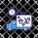 Mobile Pet Care Service Icon