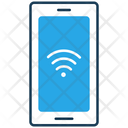 Mobile Phone Communication Connectivity Icon