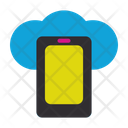 Mobile Phone Connection Web Icon