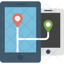 Mobile Phone Tracking Icon