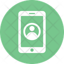 Mobile Phone User App Mobile Icon