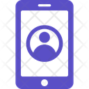 Mobile Phone User Icon