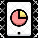 Mobile Pie Chart Pie Chart Pie Icon