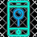 Mobile Location Pin Location Pointer Icon