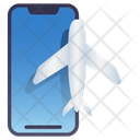 Mobile Plane Mode Icon