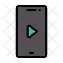Mobile Phone Video Icon
