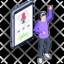 Mobile Podcast Icon