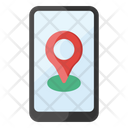 Mobile Location Mobile Pinpointer Map Location Icon