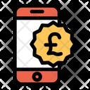 Pound Mobile Money Icon