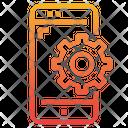 Mobile Process Icon