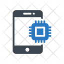 Mobile Cpu Processor Icon