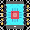 Mobile Chip Processor Icon