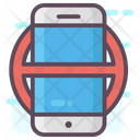 Mobile Prohibition Icon