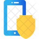 Mobile Protection Mobile Insurance Shield Icon