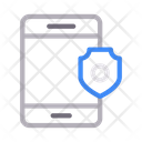 Phone Security Protection Icon