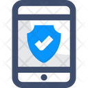 M Mobile Mobile Protection Phone Protection Icon