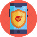Mobile Protection Mobile Security Protection Icon