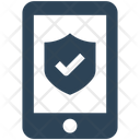 Mobile Protection Security Icon