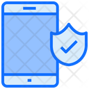 Mobile Protection Smartphone Icon