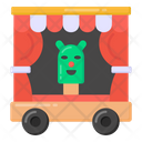 Puppet Show Puppet Trailer Mobile Puppet Theatre Icon