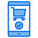 Smartphone Cart Screen Icon
