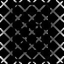 Quick Response Code Matrix Barcode Qr Code Icon